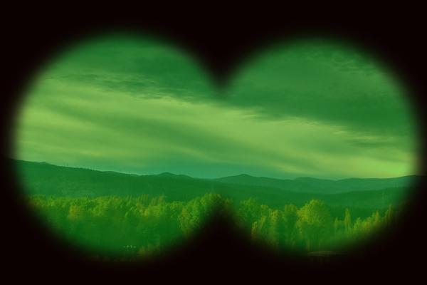 Simulación de visión nocturna