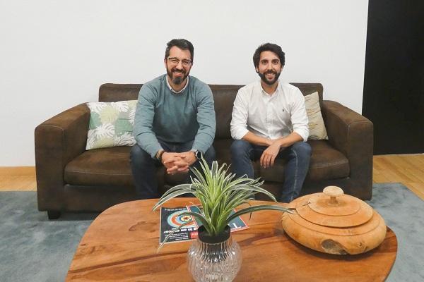 Enrique Benavides (CBRE) y Gastón Ortiz Ramos (Book a Corner)