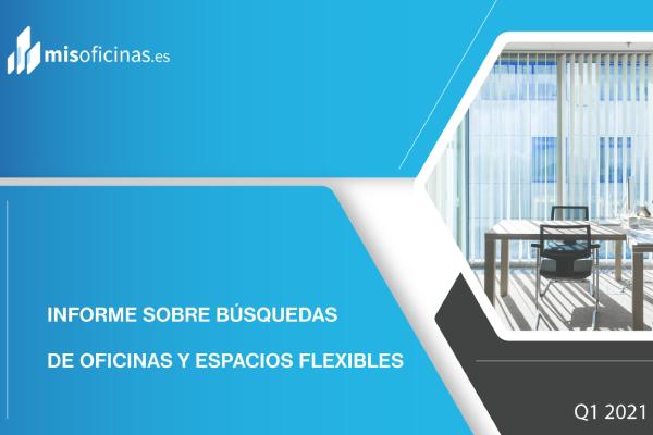 Informe de oficinas y espacios flexibles Q1 2021