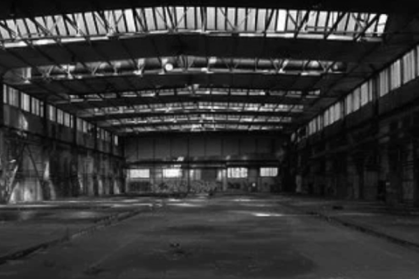 Interior de una nave industrial
