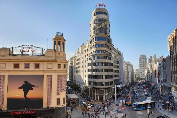 Calle Jacometrezo en Madrid