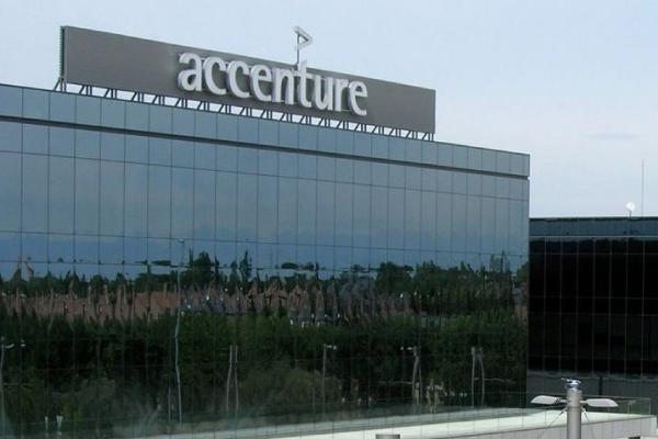Edificio de oficinas de Accenture en Pozuelo de Alarcón, Madrid.
